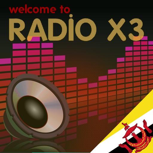 X3 Brunei Darussalam Radios - Radio dari Brunei Darussalam