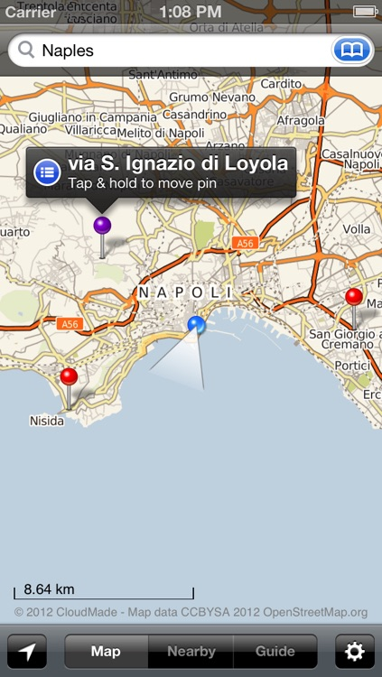 Smart Maps - Naples (Napoli, Pompeii & Capri) screenshot-4