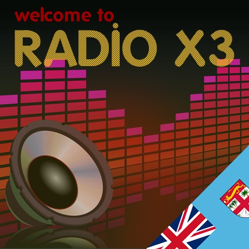 X3 Fiji Islands Radio icon