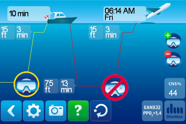 DiveMax NITROX Dive Planner screenshot-2