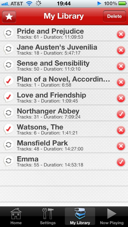 Audiobooks - Austen screenshot-2