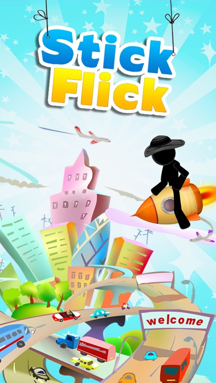 Stick Flick - Top Free Swipe & Jump Game