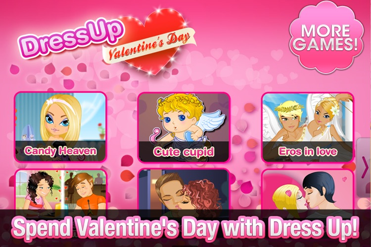 Dress Up! Valentine's Day!