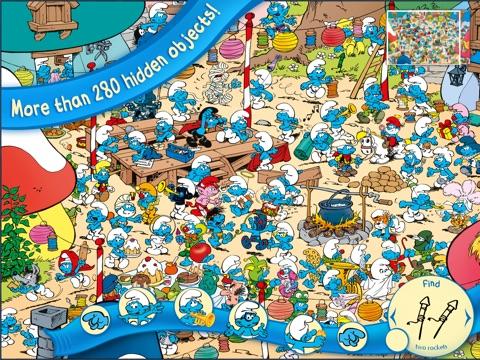 The Smurfs Hide & Seek with Brainy для iPad