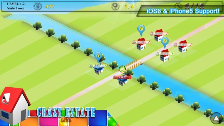 Crazy Estate Lite screenshot-3