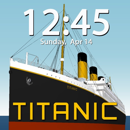 Clockscapes Titanic - Animated Clock Display!