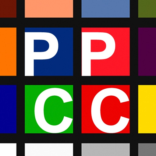 Pro Photography Color Chart By Slaphost Games