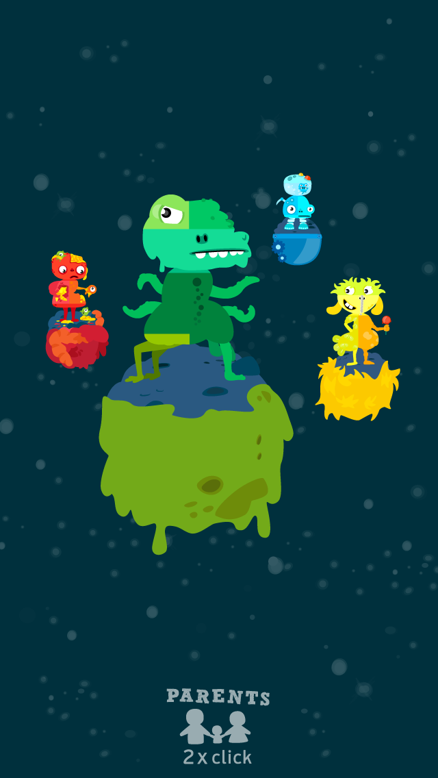 MooPuu FREE - The Animated Monster Puzzle screenshot two