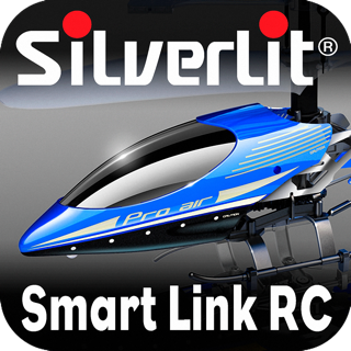 Silverlit Bluetooth RC Blue Sky Heli Remote Control on the