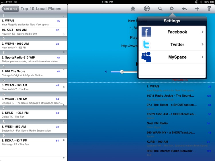 Sports Radio - iPad Edition screenshot-3