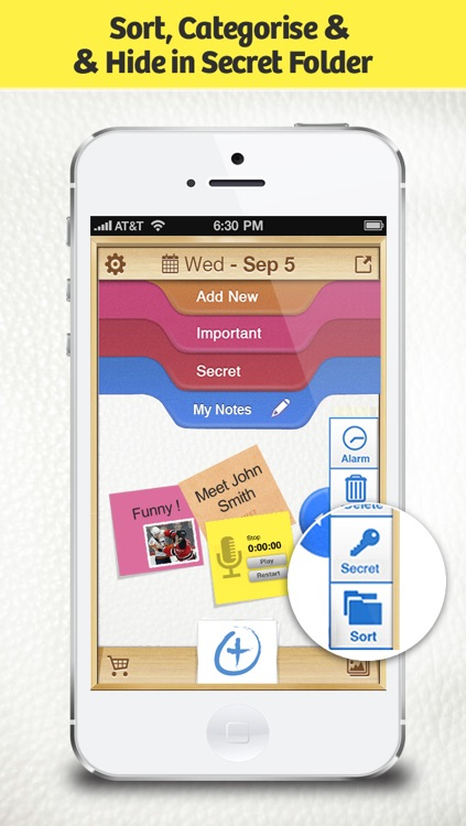 RecordMe Notes Voice Recorder App - Record Audio Memos, Business Meeting Note And School Lecture Recording screenshot-3