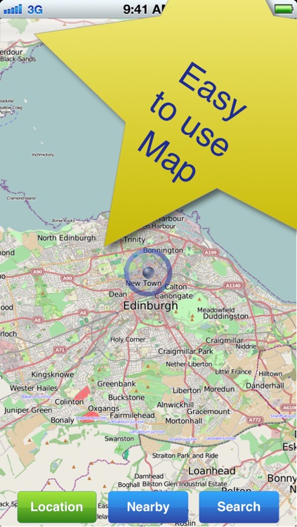Edinburgh No.1 Offline Map screenshot-2