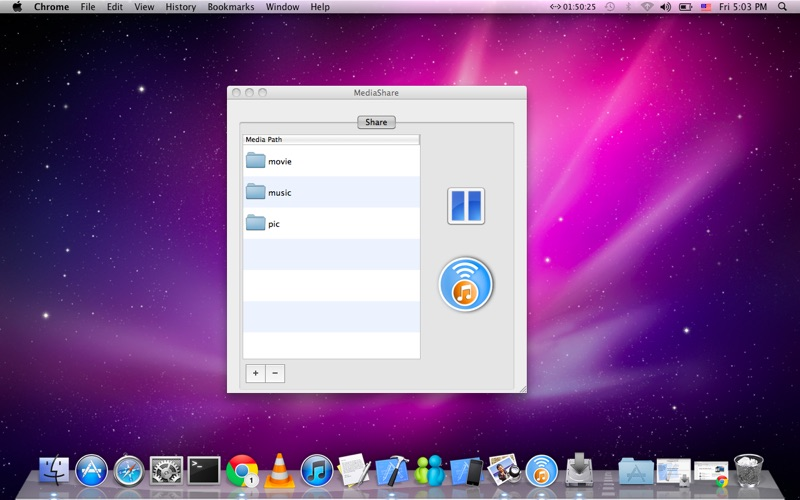 MediaShare Screenshot