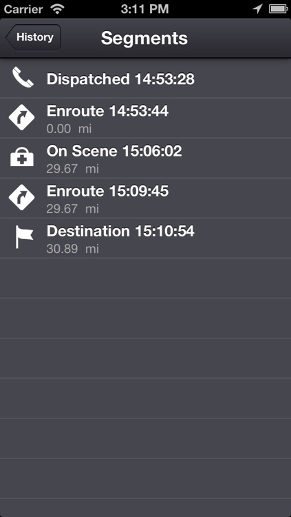 EMS Tracker - EMT, Fire and Ambulance GPS Log screenshot-4