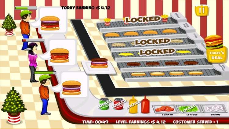 Stand O Burger Free - Cooking & Time Management Game screenshot-4