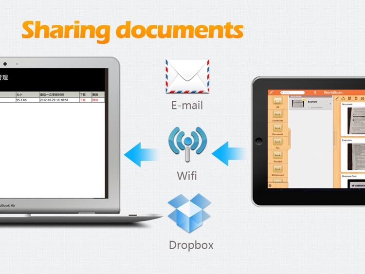WorldScan HD - Scan Documents & Share PDF screenshot-3