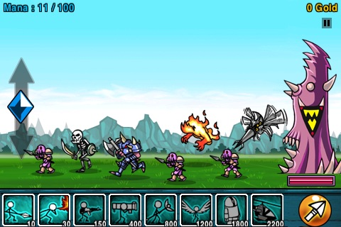 Cartoon Wars Lite screenshot-3