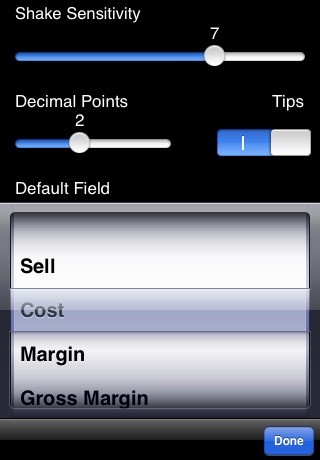 iMargin - Margin Calculator screenshot-4