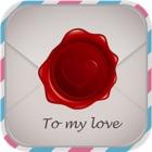 情人卡片-短信,贺卡 icon