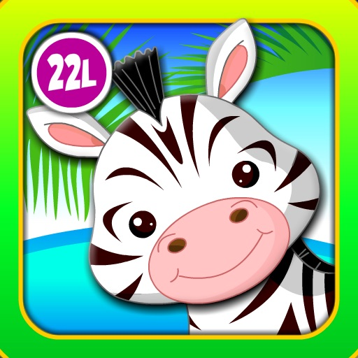 Abby Monkey® Baby Zoo Animals: Preschool activity games for children icon