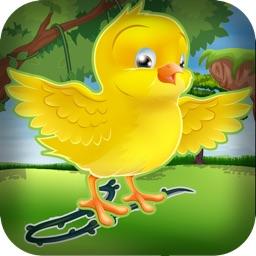 Bird Egg Drop Line Swipe Craft Puzzle Free