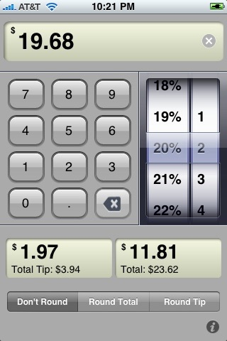 awesome tip calculator free iphoneアプリ applion