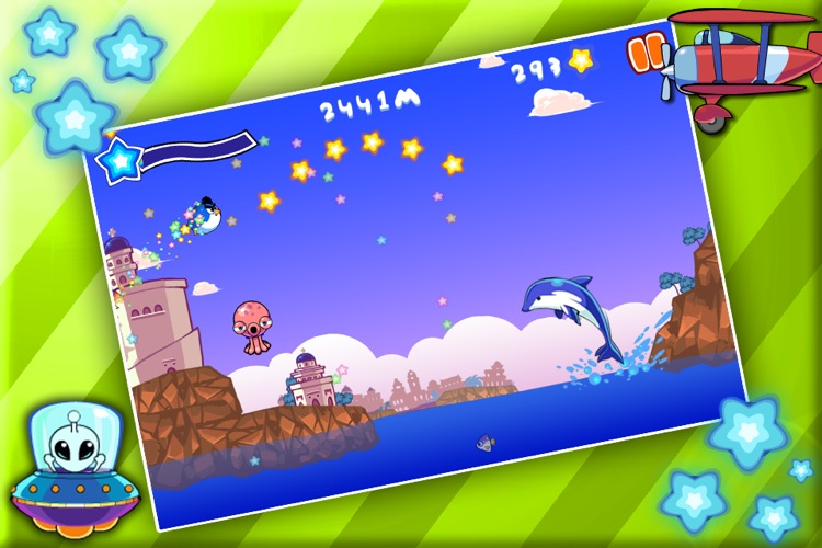 Bouncy Penguin Free screenshot-4