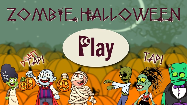 Zombie Halloween, Pumpkin Patch Fun Games