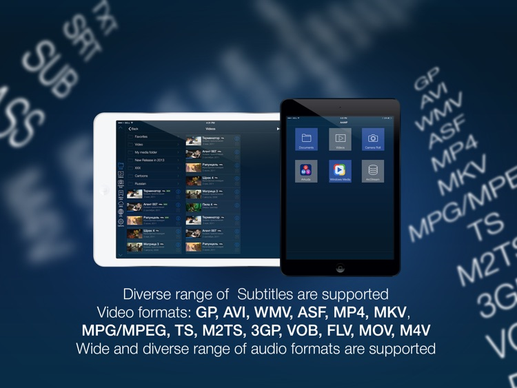 MCPlayer HD Lite wireless video player for iPad to play movies without conversion screenshot-3