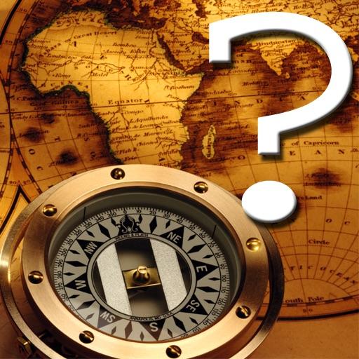 Around World Map Quiz