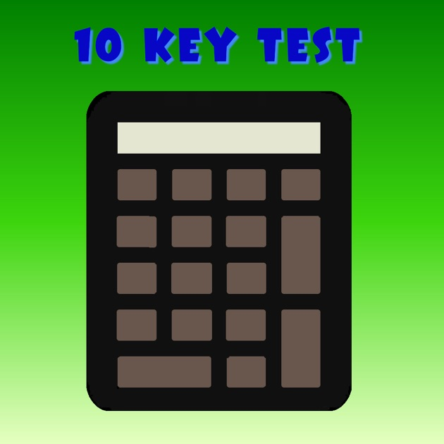 10 key test on the app store