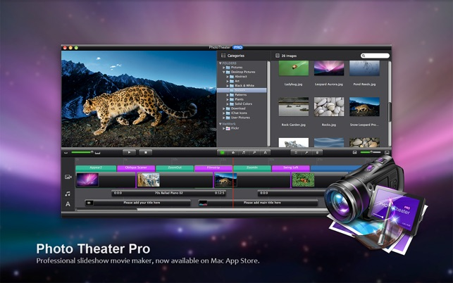 ‎Photo Theater Lite - Slideshow Movie Maker on the Mac App Store