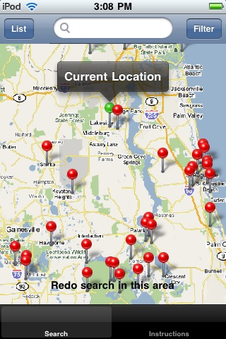 Campground Locator screenshot-4