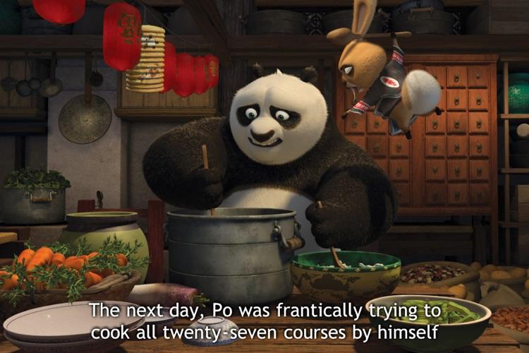 Kung Fu Panda Holiday Storybook screenshot-4