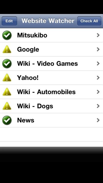 Wiki & Website Watcher