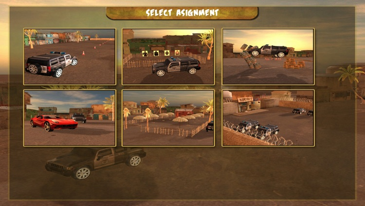 Mad Cop 4 : Hummer 4x4 Street Racing screenshot-4