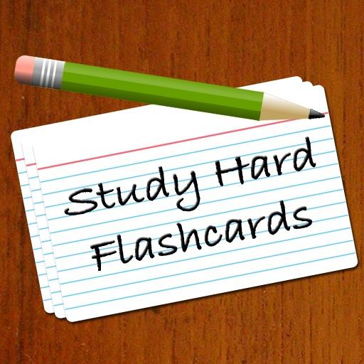 Study Hard Flashcards Lite app logo
