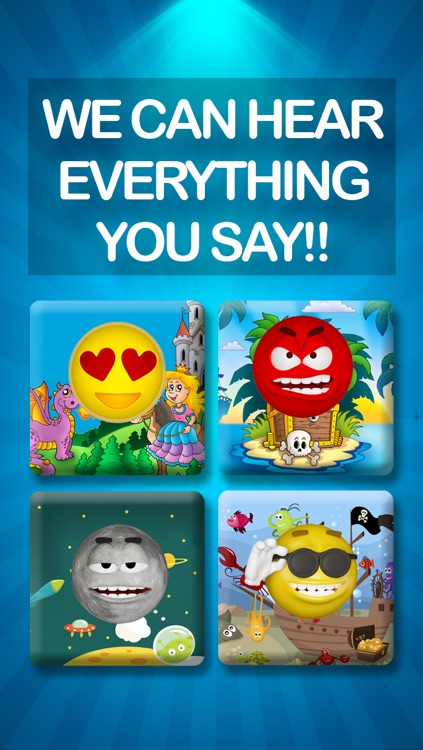 Emoji Family – Talking Parrot Squeaky Voice Recorder – Funny Stickers Morphing Video Recording for Cute Animals screenshot-4