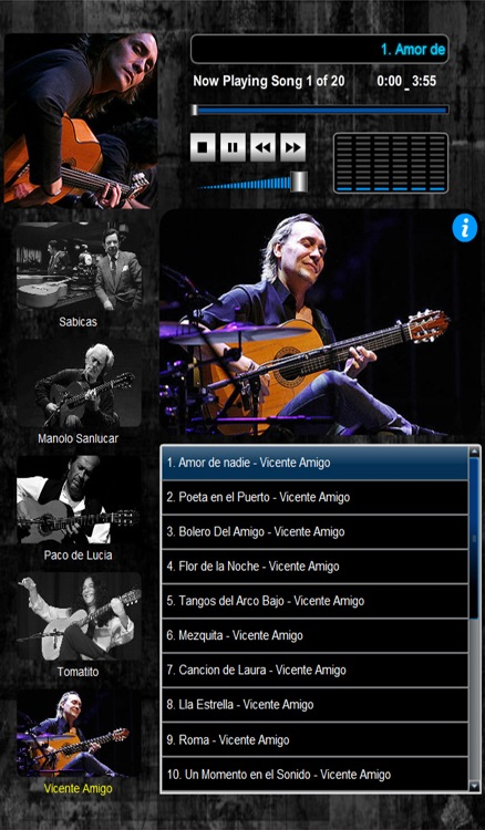 Masters of Flamenco  (5 Maestros over 100 Compositions) screenshot-4