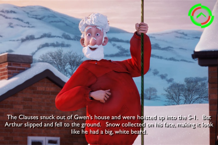 Arthur Christmas Movie Storybook screenshot-3