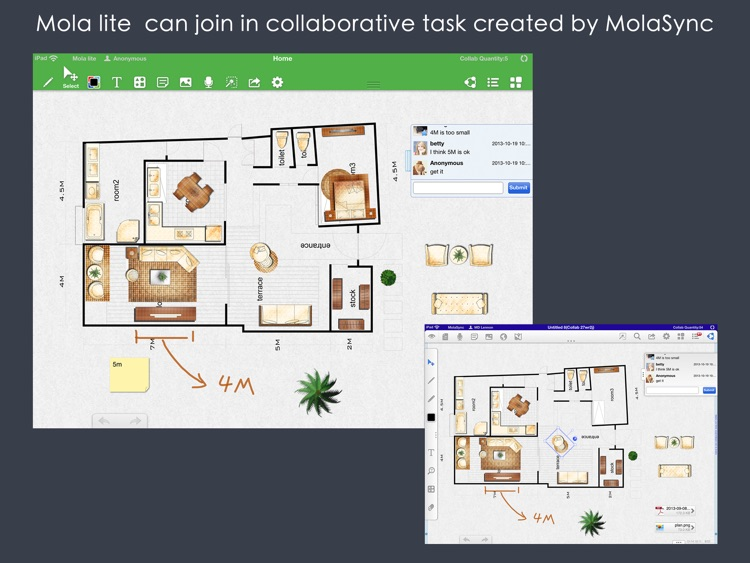 Mola lite-Collaboration ! Simplified and free version of MolaSync