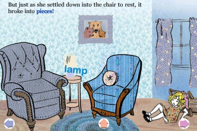 Goldilocks and the Three Bears - Children's Classic Stories by KwiqApps screenshot-4