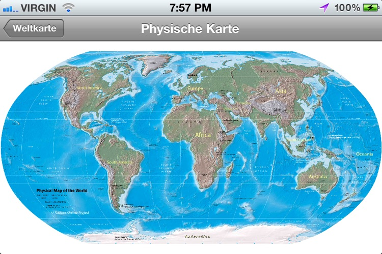 Weltkarte screenshot-4