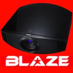 Blaze-Panasonic Projector Remote Control