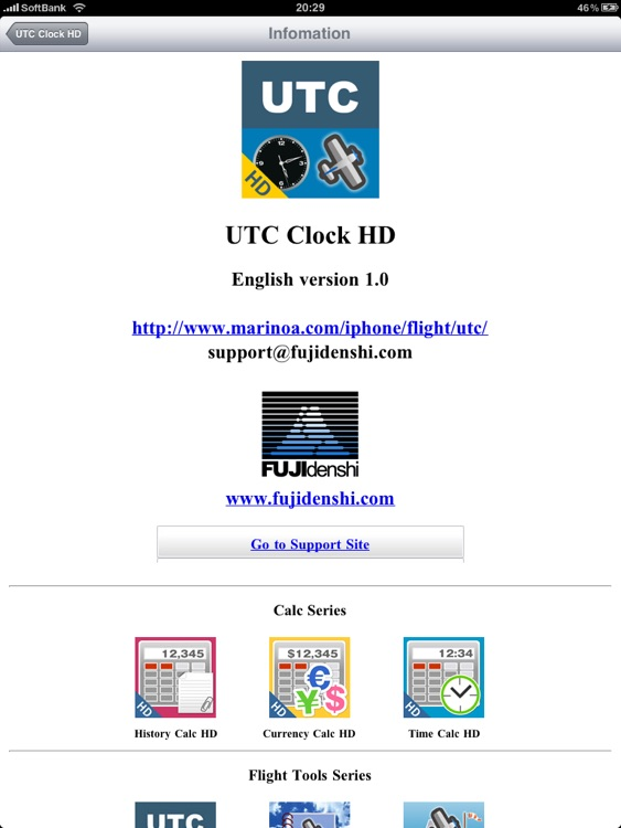 UTC Clock HD screenshot-4