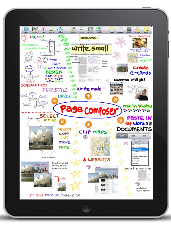Page Composer & Note Taker for the iPad screenshot-4