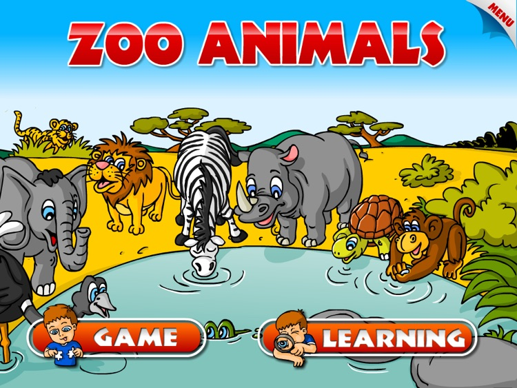 Animals - Zoo and Farm - Kids HD by 22learn screenshot-3