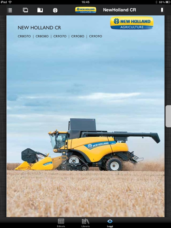 New Holland Agriculture Brochures