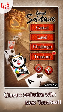Great Solitaire! screenshot for iPhone