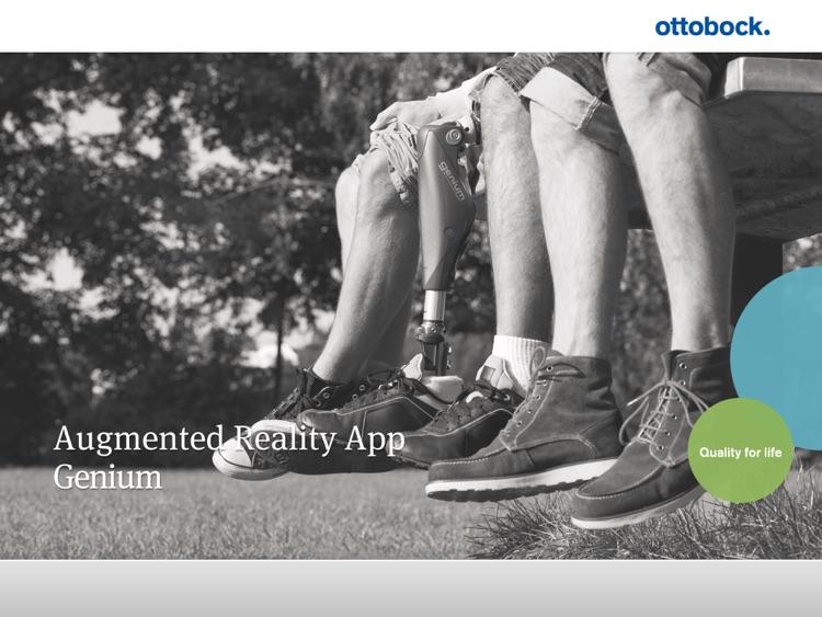 Genium™ Ottobock Augmented Reality screenshot-3
